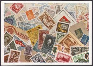 Russia Zeppelin 1931 Polarflight Postcard
