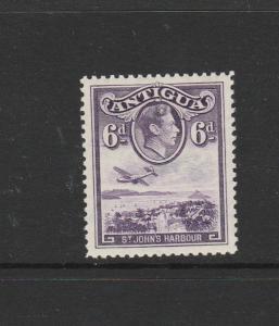 Antigua 1938 6d MM SG 104