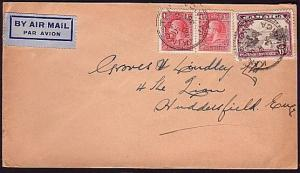 JAMAICA 1936 airmail mail cover to UK....................................34016