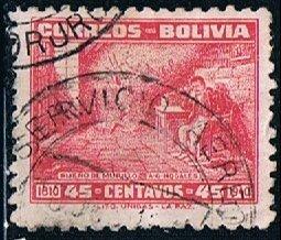 Bolivia 272, 45c Dream of Murillo, used, VF
