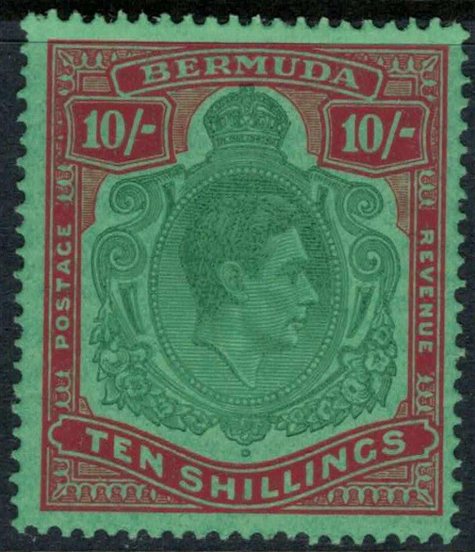 Bermuda #126b*  (S.G. Cat. #119)  CV $225.00