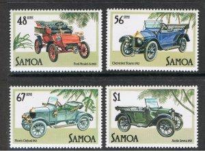SAMOA 1985 VINTAGE CARS