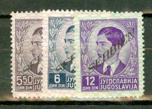 CP: Serbia 2N16//30 mint many MNH no 2N21, 2N29 CV $37.40; scan shows only a few