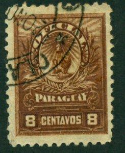 Paraguay 1901 #O46 U SCV (2018) = $0.50
