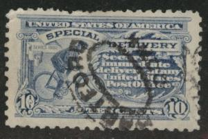 USA Scott E9 Used Perf 10 single line watermark special delivery CV$12