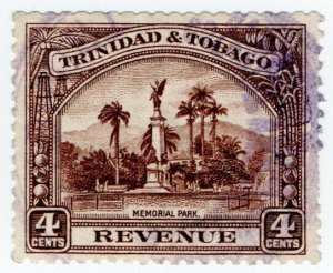 (I.B) Trinidad & Tobago Revenue : Duty Stamp 4c