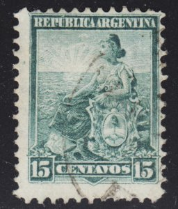 Argentina Scott 132 Fine used.