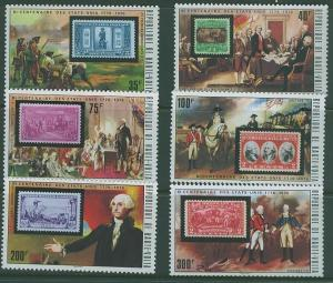 Upper Volta SC# 352-7 US Bicentenial Celebration 6 issus MNH