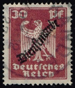 Germany #O57 Official - Eagle; Used (4Stars)