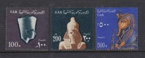 Egypt #614-616 High Values (Mint - Never Hinged) cv$26.00
