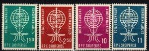 Albania #609-12  MNH CV $2.70