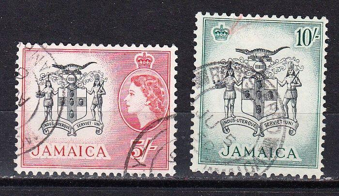 Jamaica Scott 172-173 Used (Catalog Value $29.00)