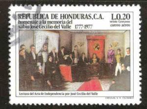 Honduras  Scott C623 Used airmail stamp