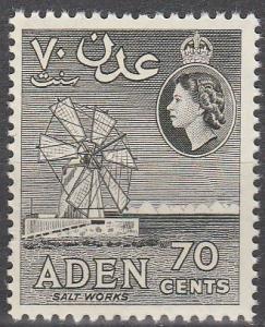 Aden #72 MNH F-VF CV $2.75  (SU4328)