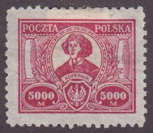 Poland 194 Nicolaus Copernicus 1923