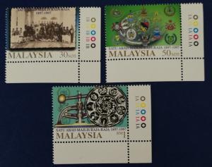 Malaysia Scott # 626-8 Ruler's Council Centenary Stamps Set MNH