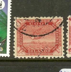 COOK ISLANDS (P2012B) BIRD  1/-  SG20  VFU