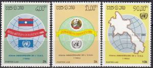 Laos #666-8  MNH CV $3.85  (A19737)