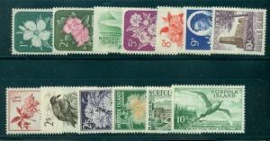 NORFOLK ISLAND #29-41 Complete set, og, NH, VF, Scott $53.85