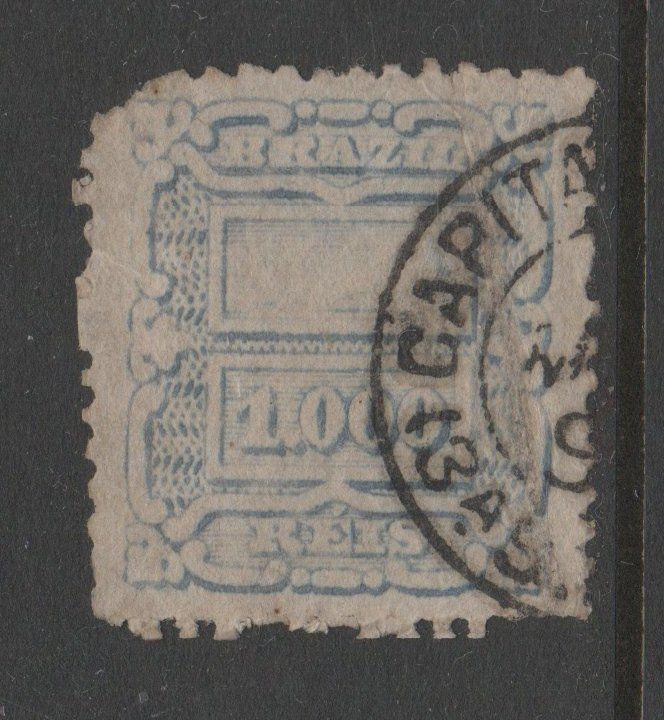 BRAZIL USED STAMPS scott 98 $100 261 1018