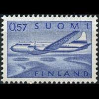 FINLAND 1970 - Scott# C10 Plane Set of 1 NH