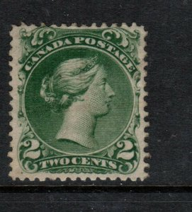 Canada #24 Mint Fine Unused Regummed And Artfully Repaired