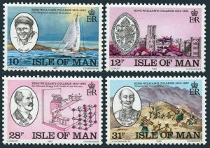 Isle of Man 246-249,MNH.Michel 242-245. King William's College-150.1983.
