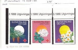 J25766  jlstamps 1988 finland set mnh #b238-40 festivals all checked