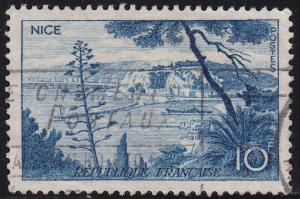 France 776 Nice 10Fr 1955