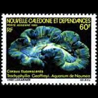NEW CALEDONIA 1980 - Scott# C169 Corals Set of 1 NH