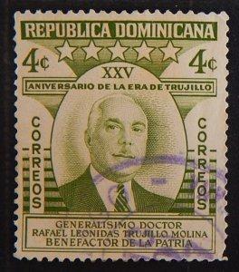 Dominican Republic, 1955, The 25th Year of Trujillo Era, (2187-T)