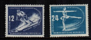 Germany DDR  51 - 52  MNH cat $ 10.00
