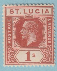 ST LUCIA 87 MINT HINGED  OG * NO FAULTS EXTRA FINE!