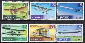 Anguilla 355-360 Airplanes MNH VF