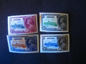 Gibraltar #100-03 Mint Hinged- (AZ8) WDWPhilatelic!