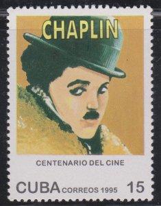 1995 Cuba Stamps Sc 3692 Charles Chaplin MNH