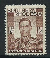 Southern Rhodesia SG 42  VFU