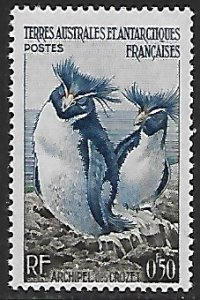 French Southern and Antarctic Territories # 2 - Rockhopper Penguin - MH - GR1
