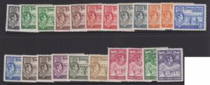 Turks & Caicos 1938 King GVI Full Set Sc#78-89 Mint VLH