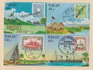 Palau Scott #C9a Stamps - Mint NH Block of 4
