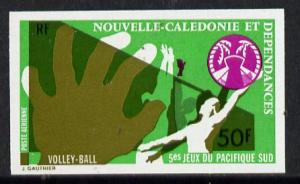 New Caledonia 1974 South Pacific Games 50f (Volleyball) i...