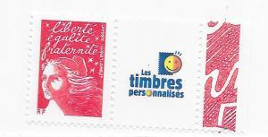 France #2835de  3f  RF with label ( MNH) CV $6.00