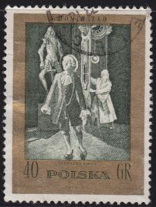 Poland 1902 USED 1972 The Frightful Castle 40GR