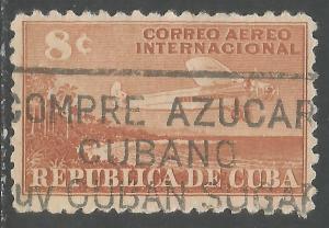 CUBA C40 VFU AIRPLANE Z4-135-1