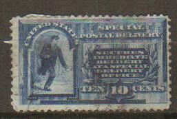 United States #E1 Used