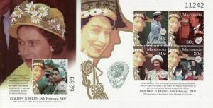 Micronesia - Queen Elizabeth II - 2 S/S  Set 13Q-001