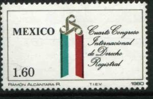 MEXICO 1219 International Civil Justice Congress MINT, NH. VF.