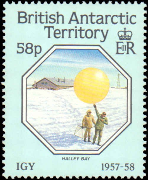British Antarctic Territory #141-144, Complete Set(4), 1987, Polar, Never Hinged