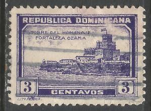 DOMINICAN REPUBLIC 279 VFU V756-4