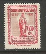 BOLIVIA 372 MOG ISABELLA N508